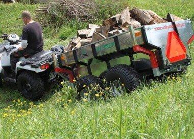 ATV Anhänger mit Quad