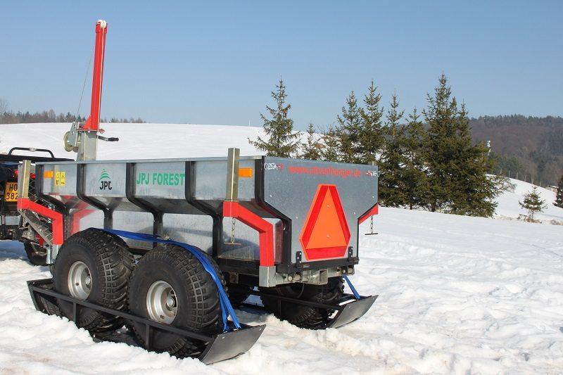 Ski - Quad Anhänger