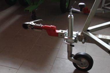 Stützrad fur ATV Anhänger