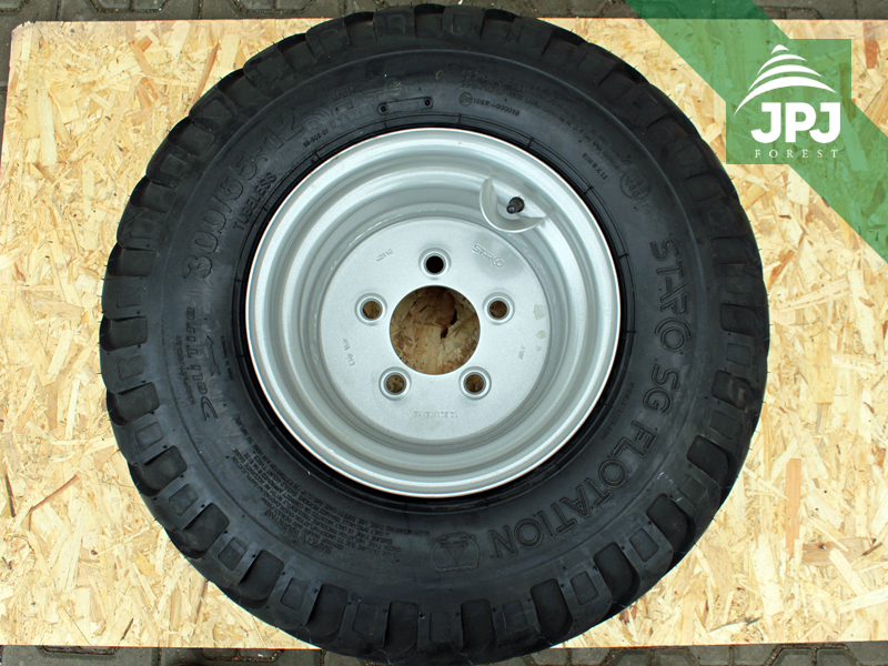 Reifen mit Felge STARCO für Rückewagen